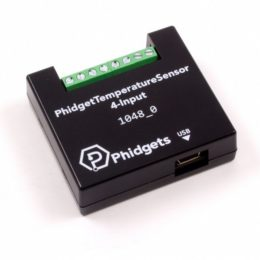 Temperature Sensor 4-Input board